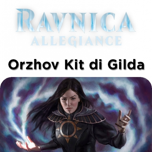 Ravnica Allegiance - Orzhov - Kit Di Gilda + Penna Fantàsia (ENG) Edizioni Speciali