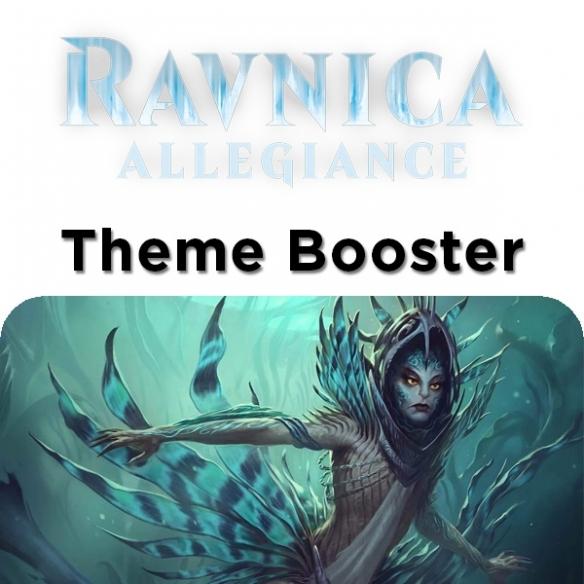 Ravnica Allegiance - Simic - Theme Booster + Penna Fantàsia! (ENG) Edizioni Speciali