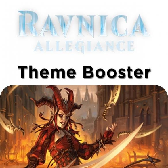 Ravnica Allegiance - Rakdos - Theme Booster + Penna Fantàsia! (ENG) Edizioni Speciali