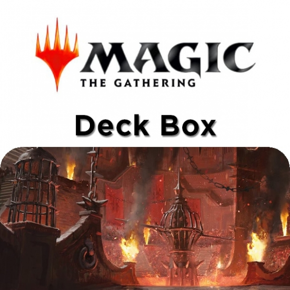 Ultra Pro - Deck Box - Guilds of Ravinica Cult Of Rakdos Deck Box