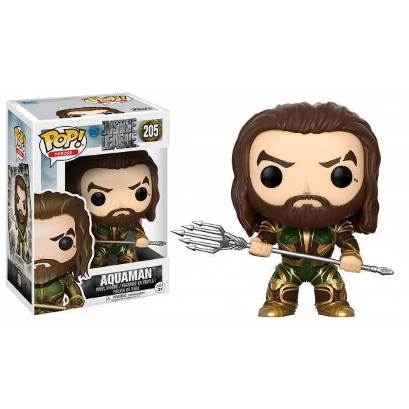 Funko Pop 205 - Aquaman - Justice League Funko 12,90 €