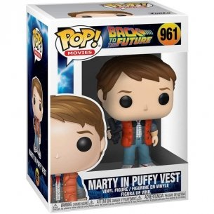 Funko Pop Movies 961 - Marty in Puffy Vest - Back to the Future POP!