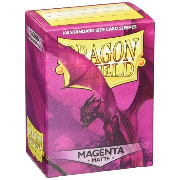 Dragon Shield - Matte Magenta - Standard (100 bustine) Bustine Protettive