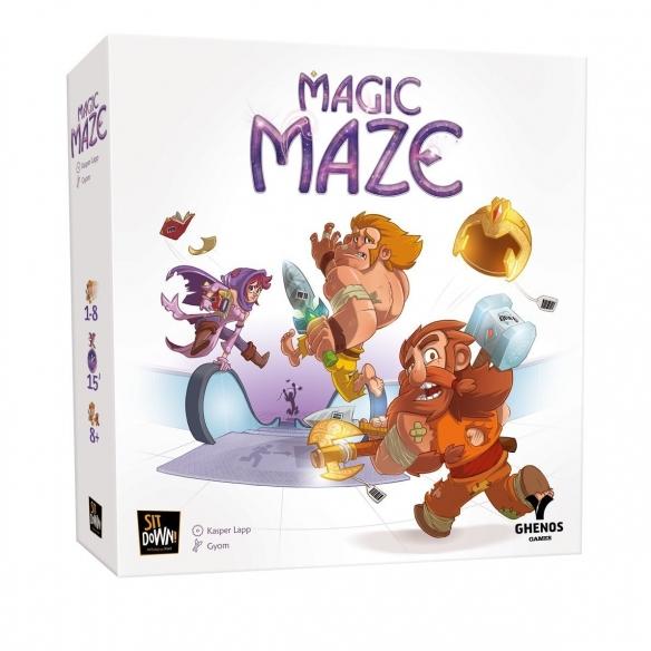 Magic Maze Cooperativi