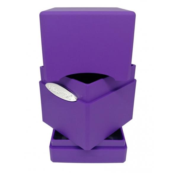 Ultra Pro - Satin Tower - Viola Deck Box