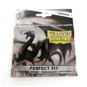 Dragon Shield Perfect Fit Sideloading Smoke - Pacco da 100  - Dragon Shield 3,90€