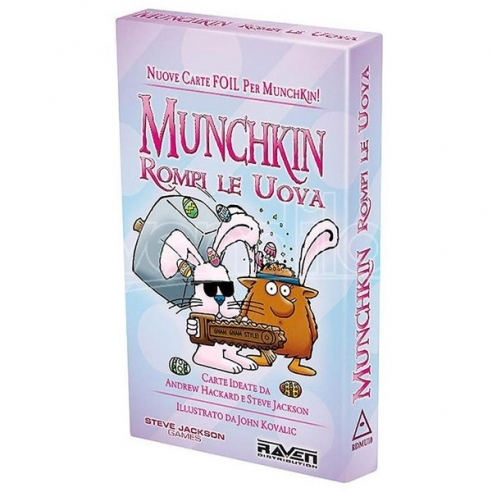 Munchkin - Rompi Le Uova (Espansione) Party Games