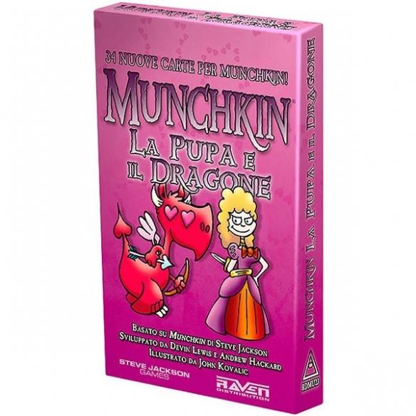 Munchkin - La Pupa E Il Dragone (Espansione) Party Games