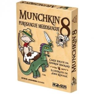 Munchkin 8 - Purosangue Mezzosangue (Espansione) Party Games