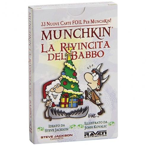 Munchkin - La Rivincita Del Babbo (Espansione) Party Games
