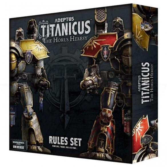 Adeptus Mechanicus - The Horus Heresy Rules Set (ENG) Regolamenti e starter set