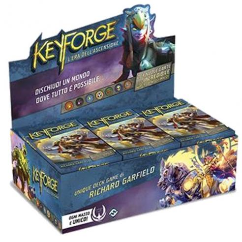Keyforge - Era dell'Ascensione - Box 12x Mazzi Keyforge