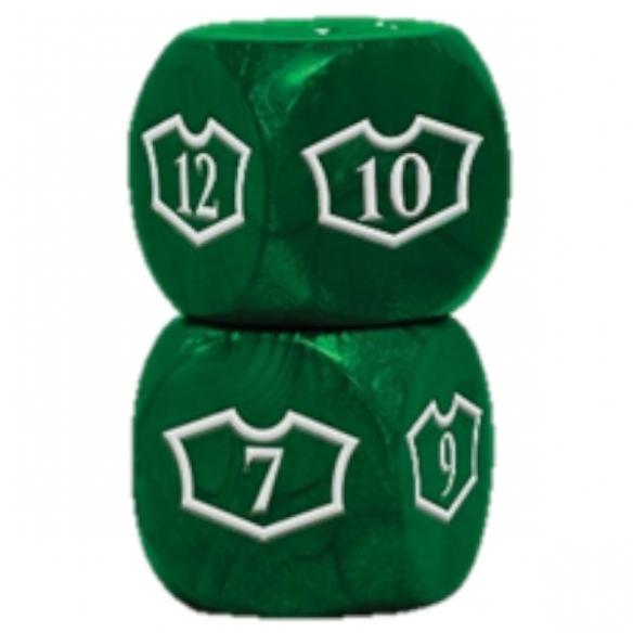 Ultra Pro - Loyality Green Dice - Dadi 6 facce Dadi