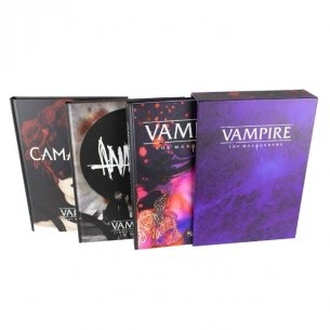 Vampiri La Masquerade - Manuale Base + Anarchici + Camarilla (Bundle) Vampiri La Masquerade