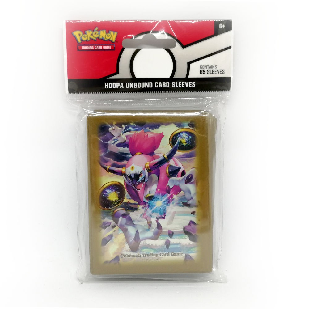 "POKEMON /""HOOPA UNBOUND/"" 65 CARD SLEEVES"