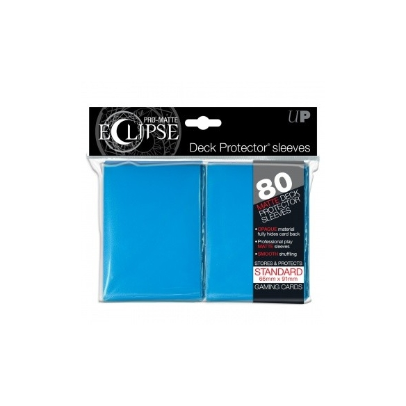 Ultra Pro - Eclipse - Matte Light Blue - Standard (80 bustine) Bustine Protettive