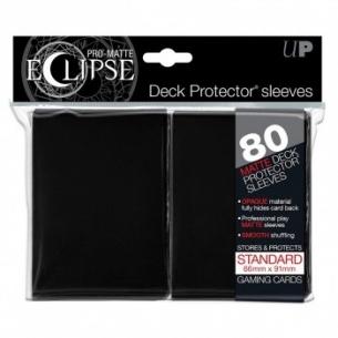 Black - Pro-Matte Eclipse - 80 bustine protettive Ultra Pro 7,90€