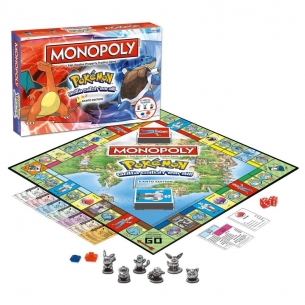 WINNING MOVIES - MONOPOLY POKEMON, CANTO EDITION - INGLESE Winning Moves 47,90 €