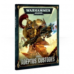 Codex: Adeptus Custodes [ITALIANO] Warhammer 40k 25,00 €