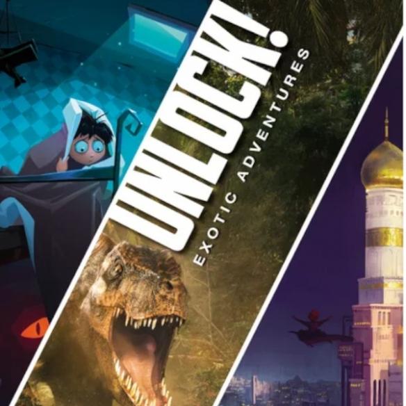 Unlock! 4 - Exotic Adventures Investigativi e Deduttivi