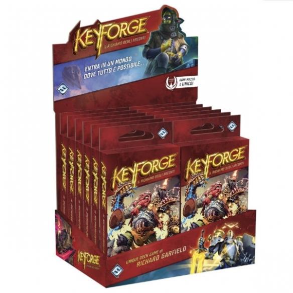 Keyforge - Il Richiamo degli Arconti - Box 12x Mazzi Keyforge