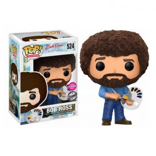 Funko Pop 524 - Bob Ross FLOCKED - The Joy of Painting  - Funko 17,90 €