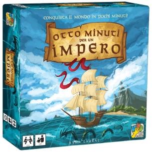 DVGIOCHI - OTTO MINUTI PER UN IMPERO - ITALIANO  - Dv Giochi 19,90€