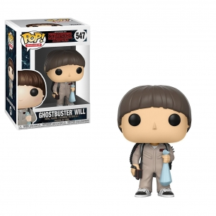 Funko Pop 547 - Ghostbuster Will - Stranger Things  - Funko 14,90 €