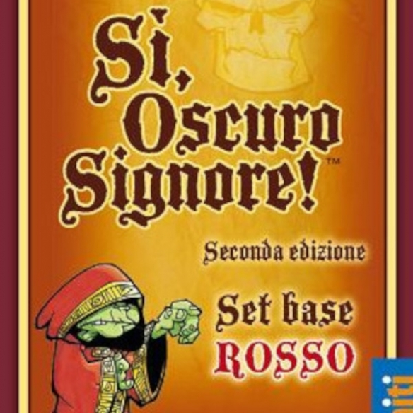 Si, Oscuro Signore - Set Rosso Party Games
