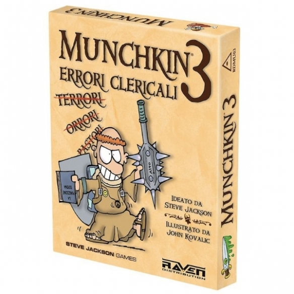 Munchkin 3 - Errori Clericali (Espansione) Party Games