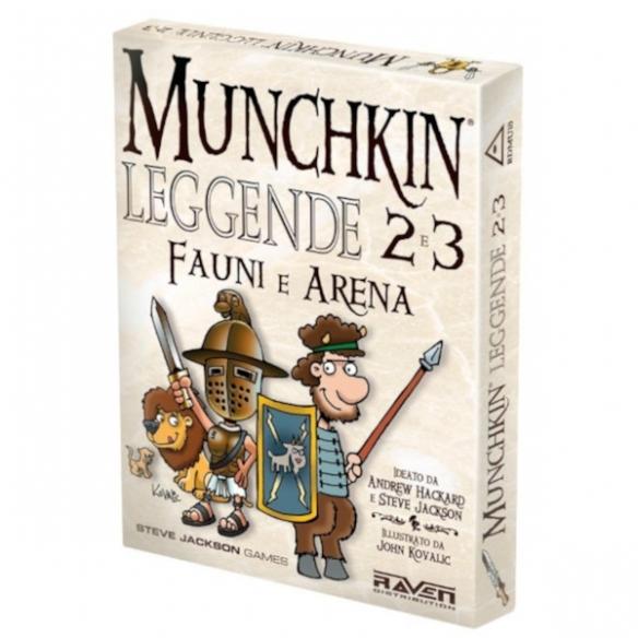 Munchkin - Leggende - 2 E 3 Fauni e Arena (Espansione) Party Games