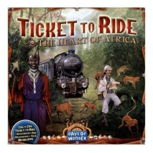 Ticket To Ride - The Heart Of Africa (Espansione) Grandi Classici