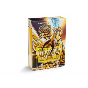 Dragon Shield Small Sleeves - Japanese Matte Gold (60 bustine)  - Dragon Shield 4,00 €