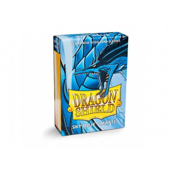 Dragon Shield - Matte Sky Blue - Small Japanese (60 bustine) Bustine Protettive