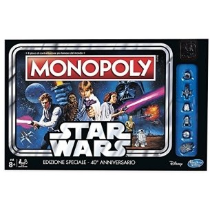 Monopoly - Star Wars (edizione 40° anniversario) Grandi Classici