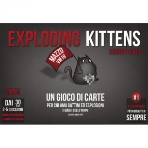 ASMODEE - EXPLODING KITTENS V.M. 18 - ITALIANO  - Asmodee 29,90€