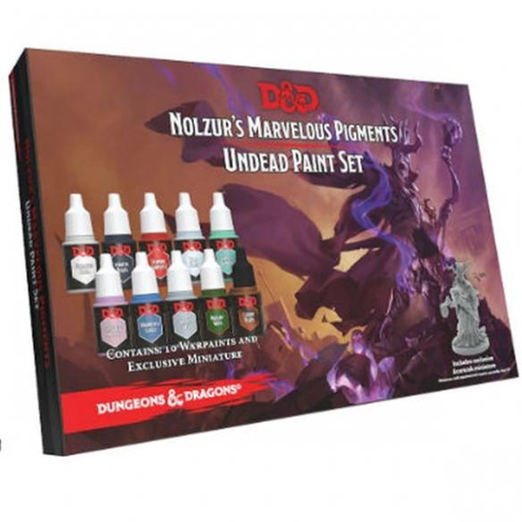 The Army Painter - Set da Pittura D&D: Undead + Miniatura Set di Pittura