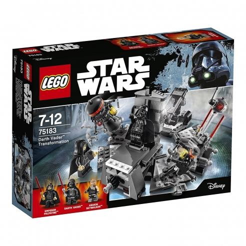 Darth Lego Vader Star Wars Onuwts4847 75183 La Trasformazione Di Ybyf76g
