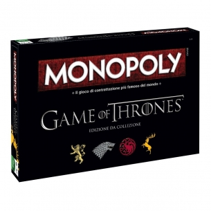 WINNING MOVIES - MONOPOLY IL TRONO DI SPADE - ITALIANO  - Winning Moves 39,90 €