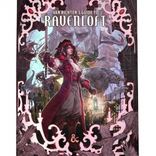 Dungeons & Dragons - Van Richten's Guide to Ravenloft - Alternative Cover (ENG) Manuali