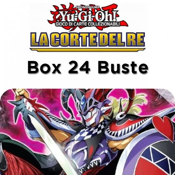 La Corte del Re - Display 24 Buste (ITA - 1a Edizione) Box di Espansione Yu-Gi-Oh!