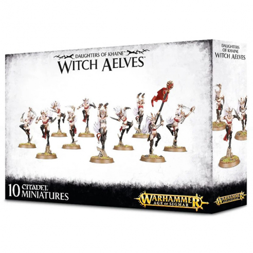 Daughters of Khaine - Witch Aelves Daughters of Khaine
