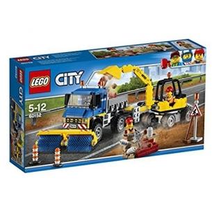 Lego City 60152 - Spazzatrice ed Escavatore LEGO 34,90€