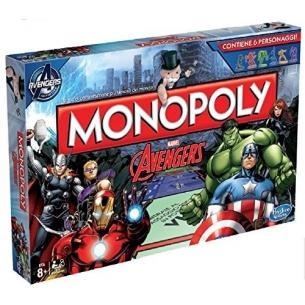 HASBRO - MONOPOLY AVENGERS MARVEL - ITALIANO Hasbro 36,90€