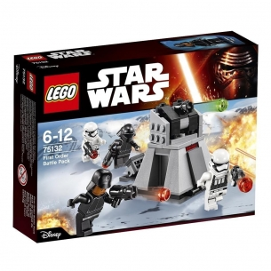 Lego Star Wars 75132 - Battle Pack Primo Ordine  - LEGO 19,90€