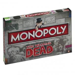 HASBRO - MONOPOLY THE WALKING DEAD - INGLESE  - Hasbro 37,90 €