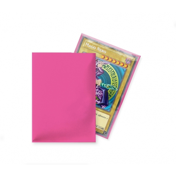 Ultra Pro - Matte Bright Pink - Small Japanese (60 bustine) Bustine Protettive