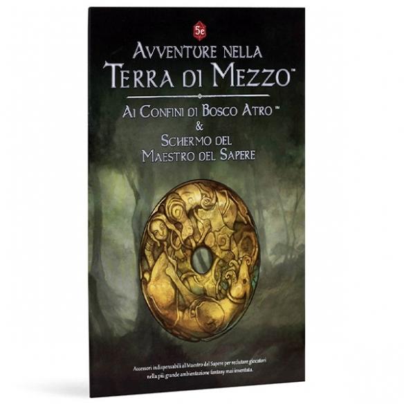 Avventure Nella Terra Di Mezzo - Ai Confini Di Bosco Atro & Schermo Del Maestro Del Sapere Avventure Nella Terra di Mezzo