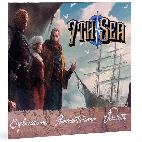 7th Sea - Schermo Del Game Master 7th Sea