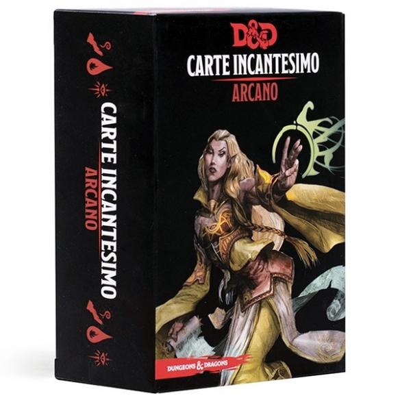 D&D - Carte Incantesimo - Arcano Carte